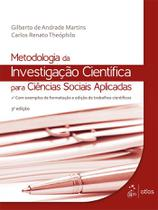 Livro - Metodologia da Investigação Científica para Ciências Sociais Aplicadas -
