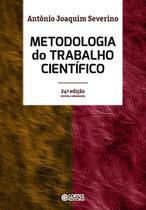 Livro - Metodologia do trabalho científico -