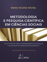 Livro - Metodologia E Pesquisa Científica Em Ciências Sociais -