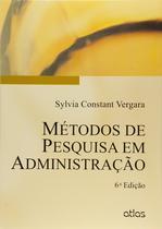 Livro - Métodos De Pesquisa Em Administração -