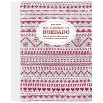 Livro Meu Caderno de Bordado - Pontos Clássicos por Marie Suarez - Gg Editora