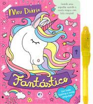 Livro - Meu diário fantástico - Com caneta especial -