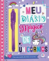 Livro - Meu diário mágico de unicórnios -