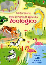 Livro - Meu livrinho de adesivos: Zoológico -