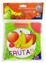 Livro - Meu livrinho de pano: Frutas -