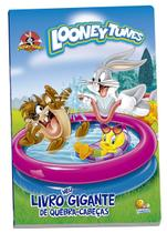 Livro - Meu livro gigante quebra-cabeça licenciado: Looney Tunes -