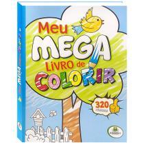 Livro - Meu megalivro de colorir -
