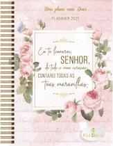 Livro - Meu plano com Deus - Planner 2021 - Contarei tuas maravilhas -
