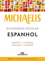 Livro - Michaelis dicionário escolar espanhol -