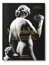 Livro Michelangelo : The Complete Paintings Sculptures And Architecture Importado Inglês Capa Dura - Taschen -