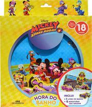 Livro - Mickey Aventura Sobre Rodas - Hora do banho -