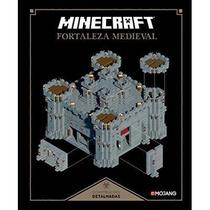 Livro Minecraft Fortaleza Medieval - Mojang -