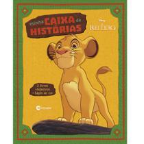 Livro - MINHA CAIXA DE HISTORIAS REI LEAO -