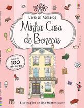 Livro - Minha casa de bonecas : Livro de adesivos -