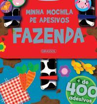 Livro - Minha Mochila de Adesivos -