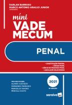 Livro - Mini Vade Mecum Penal - 10ª Edição 2021 -