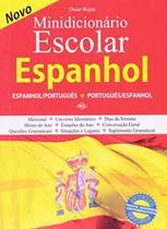 Livro - Minidicionario Escolar - Espanhol - Dcl - difusao cultural do livr