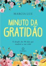 Livro - Minuto da Gratidão -