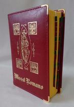 Livro Missal Romano Editora Paulus Liturgia Santa Missa Luxo -