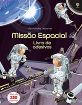 Livro - Missão espacial: livro de adesivos -
