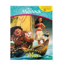 Livro Moana - Aventuras do Mar - Com 10 Miniaturas Disney - Melhoramentos