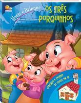 Livro - Monte e brinque: os três porquinhos -