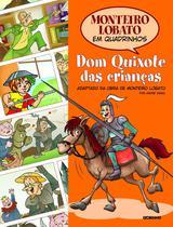 Livro - Monteiro Lobato em Quadrinhos - Dom Quixote das crianças -