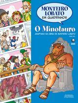 Livro - Monteiro Lobato em Quadrinhos - O Minotauro -