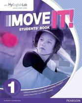 Livro - Move It - Students Book com MyEnglishLab - Level 1 -