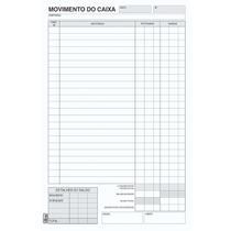 Livro Movimento Caixa Oficio 100 Folhas Tilibra Pct.c/10 -