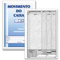 Livro Movimento de Caixa São Domingos 6412 - 50 Folhas - SAO DOMINGOS