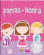 Livro - Mundo mágico com adesivos: damas de honra -