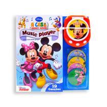 Livro Music Player - Livro de Histórias - A Casa do Mickey Mouse DCL -