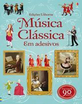 Livro - Música clássica em adesivos -