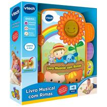 Livro Musical de Rimas - Vtech -