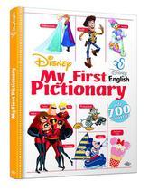 Livro My First Pictionary English Disney - Editora Dcl -