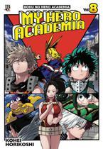 Livro - My Hero Academia - Vol. 8 -