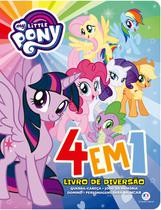 Livro - My Little Pony - 4 em 1 - Livro de diversão -