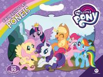 Livro - My Little Pony - Colorindo as ponêis -