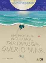 Livro - Na praia e no luar, tartaruga quer o mar -