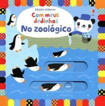 Livro - No zoológico : Com meus dedinhos -