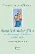 Livro - Nossa Senhora dos Aflitos - Invocada em situações de sofrimento, angústia e solidão - Novena e ladainha