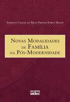 Livro - Novas Modalidades De Família Na Pós-Modernidade -