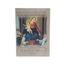 Livro Novena A Nossa Senhora Do Rosário De Pompeia - Imaculada Comércio
