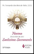 Livro - Novena em louvor do Santíssimo Sacramento -