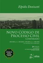 Livro - Novo Código de Processo Civil Comparado -