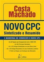 Livro - Novo Cpc Sintetizado E Resumido: 5 Maneiras De Conhecer O Novo Cpc -