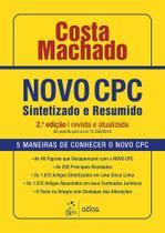 Livro - Novo CPC - Sintetizado e Resumido -