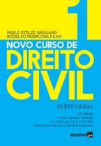 Livro - Novo Curso de Direito Civil Vol 1 - Parte Geral - 22ª Ed. 2020 -