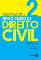 Livro - Novo Curso de Direito Civil Vol 2 - Obrigações - 21ª Ed. 2020 -
